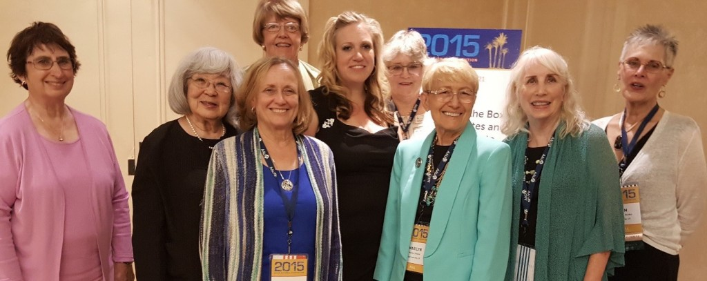 The Utah attendees: Janet Bunger, Jeanette Misaka, Kathy Boyer, Kay Ackerman, Stephanie Bagnell, Rosemary Hargrove, Marilyn Shearer, Claire Turner, and Pam Wootten